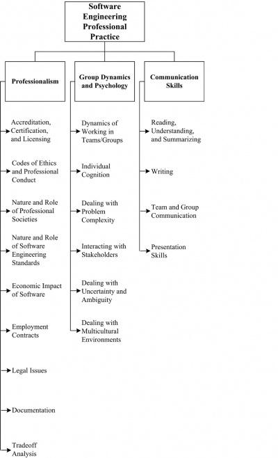 Chapter 11: Software Engineering Professional Practice - SWEBOK